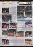 Scan of the preview of NBA Live 2000 published in the magazine GamePro 133