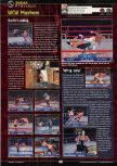 Scan of the preview of WCW Mayhem published in the magazine GamePro 133