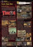Scan of the preview of Turok: Rage Wars published in the magazine GamePro 135