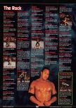 Scan of the walkthrough of WWF Wrestlemania 2000 published in the magazine GamePro 135, page 2