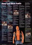 Scan of the walkthrough of WWF Wrestlemania 2000 published in the magazine GamePro 135, page 3