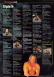 Scan of the walkthrough of WWF Wrestlemania 2000 published in the magazine GamePro 135, page 6