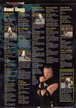 Scan of the walkthrough of WWF Wrestlemania 2000 published in the magazine GamePro 135, page 8