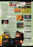 Scan of the review of Donkey Kong 64 published in the magazine GamePro 136