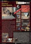 Scan of the preview of Armorines: Project S.W.A.R.M. published in the magazine GamePro 136