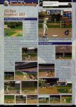 Scan of the preview of All-Star Baseball 2001 published in the magazine GamePro 138