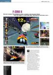Scan of the preview of F-Zero X published in the magazine Edge 54