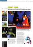 Scan of the preview of Yoshi's Story published in the magazine Edge 54