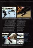 Scan of the preview of 1080 Snowboarding published in the magazine Edge 54