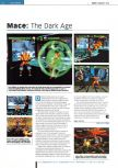 Scan of the review of Mace: The Dark Age published in the magazine Edge 54, page 1