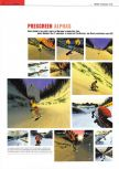 Scan of the preview of 1080 Snowboarding published in the magazine Edge 55