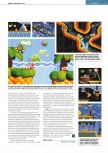Scan of the review of Yoshi's Story published in the magazine Edge 55, page 2