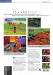 Scan of the preview of Holy Magic Century published in the magazine Edge 56