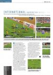 Scan of the preview of International Superstar Soccer 98 published in the magazine Edge 58
