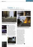Scan of the preview of Turok 2: Seeds Of Evil published in the magazine Edge 58
