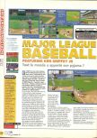 Scan of the review of Major League Baseball Featuring Ken Griffey, Jr. published in the magazine X64 10