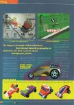 Scan of the preview of Micro Machines 64 Turbo published in the magazine Total 64 19