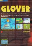 Scan of the preview of Glover published in the magazine Total 64 19