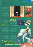 Scan of the preview of Earthworm Jim 3D published in the magazine Total 64 19