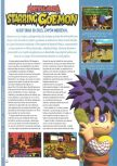 Scan of the preview of Mystical Ninja Starring Goemon published in the magazine Hobby Consolas 80