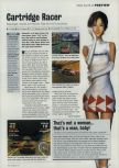 Scan of the preview of Ridge Racer 64 published in the magazine Incite Video Gaming 3