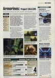 Scan of the review of Armorines: Project S.W.A.R.M. published in the magazine Incite Video Gaming 3