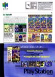 Scan de la preview de Dr. Mario 64 paru dans le magazine Electronic Gaming Monthly 141
