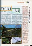 Scan of the preview of Pilotwings 64 published in the magazine CD Consoles 13