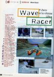 Scan of the preview of Wave Race 64 published in the magazine CD Consoles 13