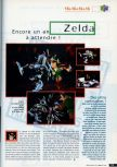 Scan of the preview of The Legend Of Zelda: Ocarina Of Time published in the magazine CD Consoles 13