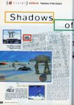 Scan of the preview of Star Wars: Shadows Of The Empire published in the magazine CD Consoles 13