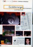 Scan of the preview of Goldeneye 007 published in the magazine CD Consoles 13