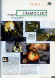 Scan of the preview of Blast Corps published in the magazine CD Consoles 13