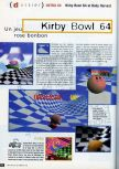 Scan of the preview of Kirby's Air Ride published in the magazine CD Consoles 13