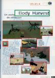 Scan of the preview of Body Harvest published in the magazine CD Consoles 13