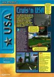 Scan of the preview of Cruis'n USA published in the magazine Consoles + 062, page 1