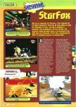 Scan of the preview of Lylat Wars published in the magazine Consoles + 061
