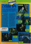 Scan of the preview of The Legend Of Zelda: Ocarina Of Time published in the magazine Consoles + 061