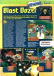 Scan of the preview of Blast Corps published in the magazine Consoles + 061