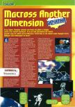 Scan of the preview of Robotech: Crystal Dreams published in the magazine Consoles + 061