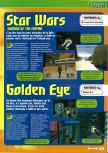 Scan of the preview of Goldeneye 007 published in the magazine Consoles + 061