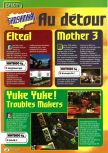 Scan of the preview of Earthbound 64 published in the magazine Consoles + 061, page 1