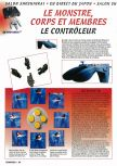 Scan of the article Le monstre, corps et membres : le contrôleur published in the magazine Consoles + 050