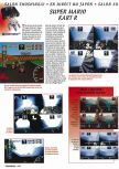 Scan of the preview of Mario Kart 64 published in the magazine Consoles + 050