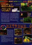 Scan of the preview of Extreme-G published in the magazine Consoles News 11