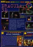 Scan of the preview of Castlevania published in the magazine Consoles News 11
