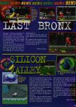 Scan of the preview of Space Station Silicon Valley published in the magazine Consoles News 11