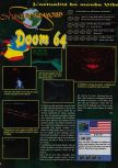 Scan du test de Doom 64 paru dans le magazine Consoles News 11
