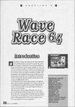 Scan of the walkthrough of Wave Race 64 published in the magazine La bible des secrets Nintendo 64 1, page 1
