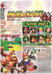 Scan of the preview of Mario Kart 64 published in the magazine Joypad 060